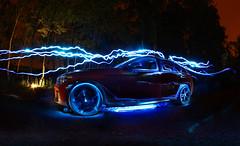 IMG_4172aa (matek 21) Tags: longexposure lightpainting night exposure neon lp bmw varta lighpainting liht 135i carlightpainting vartabatteries malowaniewiatem mateuszkrl mateuszkrol vartaflashlight