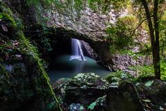 (murlito) Tags: waterfall naturalbridge springbrooknationalpark xf1024