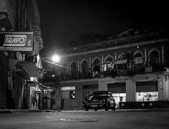 Havana at Night.... (IV2K) Tags: havana habana lahabana cuba cuban kuba centro centrohavana centrohabana neptuno film trix kodak kodaktrix analogue mamiya mamiya7ii mamiya7 longexposure night