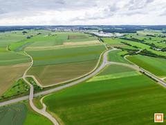 Laichingen (michab100) Tags: michab100 mib luftaufnahmen luftbild laichingen mibfoto schwbischealb grn green wiese strassen streets wege kreuzung