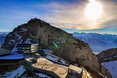 Mount Pilatus (jh_tan84) Tags: winter sky mountain landscape switzerland nikon peak mount pilatus lucerne breathtaking