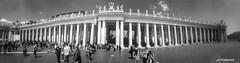 Colonnato di San Pietro  ( Roma ) (lefotodiannae) Tags: roma san italia panoramica pietro colonnato lefotodiannae