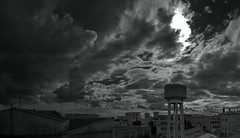 The summer can also be lazy... (Lolo_) Tags: tower water saint louis marseille eau ciel chateau nuages abattoirs 2016 anciens
