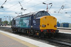 """Direct Rail Services 'Revised Swoosh' Class 37/0, 37069 (37190 """"Dalzell"""") Tags: tractor northwestern compass ee revised growler wigan swoosh type3 drs englishelectric class37 37069 directrailservices class370 d6769"""