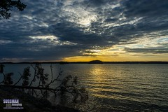 Sunset at Old Federal Park (The Suss-Man (Mike)) Tags: sunset sky lake nature water clouds georgia lanier lakelanier hallcounty flowerybranch thesussman oldfederalpark sonyslta77 sussmanimaging northgeorgiaphotographyclub