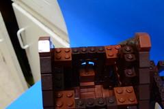 NoFig//Tower interior. (CeiCrownieGuy) Tags: ocean docks lego no lor figs lenfald crakenhaven