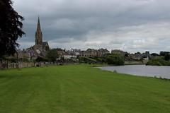 Kelso (Walruscharmer) Tags: church scotland riverside kelso churchspire rivertweed scottishborders roxburghshire townscene