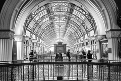 QVB (Bill Thoo) Tags: blackandwhite architecture 35mm interior sony sydney australia nsw qvb queenvictoriabuilding a7rii
