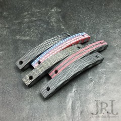 Coming Soon!! Slim lines in: carbon fiber, Liberty, brass, red racing stripes, and Aqua glow Available with band choices: stainless steel, titanium, brass, niobium and paracord (nylon cord) Reserve yours today! Email me info in bio  #jenniferray (JenniferRay.com) Tags: ray jennifer jewelry carbon custom fiber exclusive paracord jrj instagram