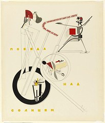 Lissitzky, El (1890-1941) - 1920 Victory Over the Sun (Museum of Modern Art, New York City) ) (RasMarley) Tags: 1920s abstract moma museumofmodernart painter jewish russian 20thcentury 1920 constructivism lissitzky suprematism ellissitzky geometricabstraction victoryoverthesun