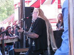 The One and only  David Allen Coe, thats his son in the background.. what a great show.. (tuffcreek) Tags: sun moon hot cold wet rain wind dry harley harleydavidson babes motorcycle daytona touring ironhorse forida silverfox ormond bikeweek bikeengine bikerbabes davidallancoe tuffcreek