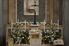 The high altar (pchidell) Tags: from home church canon paul march high shrine king christ mark mary ss institute virgin peter dome latin 24 hudson mass bishop philip annunciation gilles davies olivier blessed mgr wirral reopening solemn philomena wach tridentine icksp meney chidell