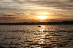 Rumo ao navio... (quanaval_sp) Tags: sunset sea brazil brasil boat mar cabo ship rj vessel prdosol frio navio imperatriz