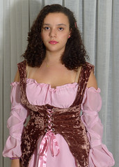 2012_0324_200013a (WLSchlueter) Tags: portrait girl beautiful vintage costume attractive charming sweetness juvenile fancydress purity fondness attractiveness graciousness