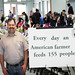 Every day an american farmer feeds 155 people!
