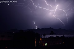 Lightning strikes on ilhabela channel (gustavobaszynski) Tags: brazil raios sp bolts paulo sao strikes ilhabela raio lightnings