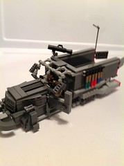 Opening Side doors (Leafix) Tags: lego scifi m3halftrack legohalftrack