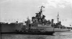 HMS Birmingham (Image Ref: warship5103) (ww2images) Tags: birmingham battleship warship royalnavy waratsea hmsbirmingham navyphoto lightcruisers britishships april1946 warshipimages warshipimagescom warshipphotos