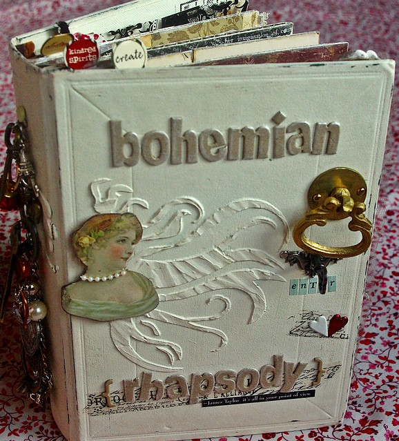 BOHEMIAN RHAPSODY Altered Book