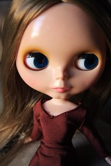 munro (Dymphna ) Tags: brown girl doll dress natural cinnamon willow blythe prima winsome munro pdww