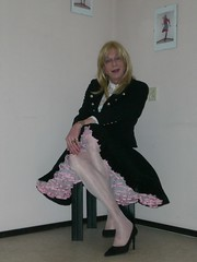 Petticoat time II. (sabine57) Tags: drag tv cd crossdressing tgirl transgender tranny transvestite crossdresser crossdress petticoat transvestism
