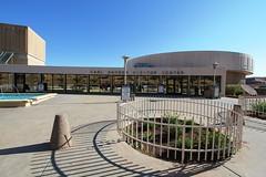 The Carl Hayden Visitor Center at Glen Canyon Dam (lhboudreau) Tags: bridge arizona lake river colorado dam plateau lakes center page coloradoriver gorge visitors visitor canyons carlhayden lakepowell glencanyon glencanyondam pagearizona carlhaydenvisitorcenter