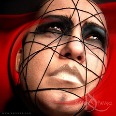 Faces Onricas 25 (Karin Schwarz | Karuska) Tags: face photo faces manipulation mito myth rosto mitos rostos oneiric onricas karuska