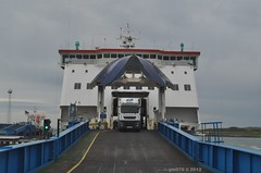 Offload (Transport Pics from Timbo) Tags: ferry po larneharbour poirishsea europeancauseway