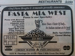Pasta Mia 1994 (frankasu03) Tags: las vegas yellow restaurants page 90s listings