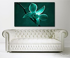 GREEN CHERRY BLOSSOM (Canvas Art Shop) Tags: flowers art floral wallart posters prints homedecor flowerart floralprints canvasart canvasprints flowerprints flowerwallart flowercanvasprints flowercanvasart
