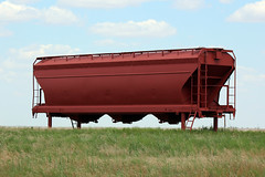 Covered Hopper outside of Electra, TX (B787823) Tags: texas covered hopper electra