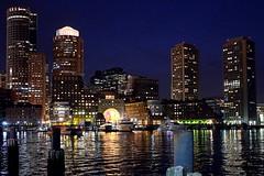 Boston Harbor (Tom Jolly) Tags: boston harbor downtown financialdistrict fortpointchannel