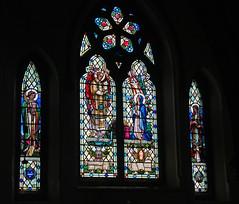 Finstall, Worcestershire, St Godwald's (Tudor Barlow) Tags: summer england churches stainedglass worcestershire lemmon parishchurch bromsgrove tamron1750 finstall astonfields gradeiilistedbuilding bromsgroveguild albertlemmon