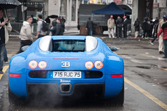 Bugatti 16.4 Veyron [On Explore !] (BenjiAuto (Ratet B. Photographie)) Tags: road park blue camping blur france cars sport fog race stand blurry nikon dof bokeh parking gear pit racing course exotic mans le lane 164 hours 24 autos races bugatti circuit luxury supercar zonda koenigsegg w16 supercars dunlop veyron paddock chicane 18105 pagani lms courbe 55200 sarthe paddocks heures d90 molsheim argane ratet worldcars hypercars hunaudires agera muslanne