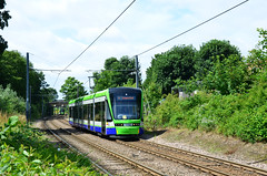 Tramlink 2558 on route 4 (John A King) Tags: tram woodside tramlink 2558 route4