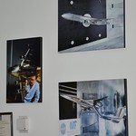 Pictures of wind tunnel tests