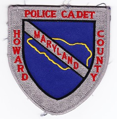 MD - Howard County Police's Cadet (Inventorchris) Tags: county college public club campus justice office md community peace cops display howard police maryland safety criminal collections cop service law enforcement patch emergency patches department officer officers colection saftey enforcment