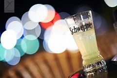 Schweppes (Yannick Charifou Photography ) Tags: nikon d700 d600 d800 d3 d3s d4 bordeaux france bokeh colors couleurs boissons drink schweppes gazeux gaz light lumire table bar pub charifou dof