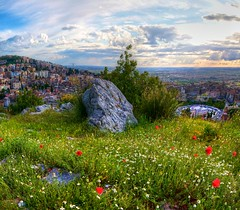 Don't Take it for Granite (Zach Dischner) Tags: city italy nature colors rock canon landscape eos tivoli italia 7d tamron1750 canon7d 7dtamron europe2012summercanoneos7dcanon 1750trivol