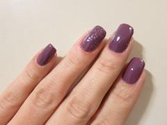 Violeta Chic - Risqué (Paula Bassi) Tags: polish que nails cinza unhas risque roxo tenho ter risqué esmalte roxoacinzentado tenhoqueter
