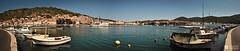 Vela Luka - Panorama (- m a k o -) Tags: sea sun holiday water skyline port canon boot eos harbor meer wasser yacht urlaub croatia korcula hafen sonne schiff 2012 hrvatska mako velaluka kroatien prominade 60d
