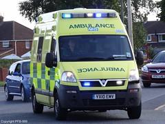 East Midlands Ambulance Service Vauxhall Movano Emergency Ambulance 6823 On Shout (PFB-999) Tags: blues ambulance east service emergency emas vauxhall shout grimsby midlands on responding movano