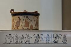 Wedding Procession (egisto.sani) Tags: wedding art ceramic greek arte greece grecia pyxis britishmuseum whiteground attica greekart greekpottery artegreca vasigreci
