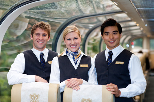 Staff, The Rocky Mountaineer from The Luxury Train Club