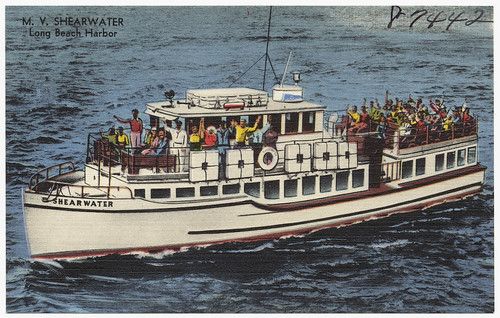 california boats postcards tichnorbrothers