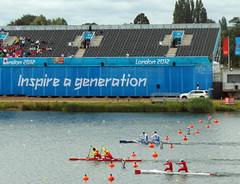 Inspire a generation (diamond geezer) Tags: kayak canoe london2012 etondorney
