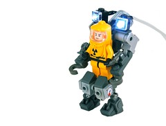 HZExplore Suit (w/ LifeLites!) (Cam M.) Tags: boss cool lego awesome exploration epic mecha hazmat mech moc hardsuit lifelites