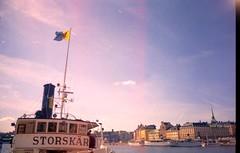 Sweden (Flévaris.vac) Tags: friends sea summer moon boys clouds airplane gold sweden stockholm north e lander gaizka eleftherios elef elefterios flev flevaris siravelf flévaris siravelfcom