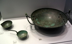 Bronze vessels from the Idaean Cave (diffendale) Tags: metal museum bronze greek ancient kreta athens creta greece grecia zeus national crete cave museo artifact archaeological ida antico dea nazionale kriti archeologico bronzo atene  psiloritis   7thcbce 8thcbce