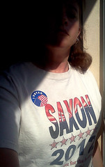 I Voted! (DM Rosner) Tags: election doctorwho themaster ivoted 10thdoctor votesaxon electionday2012 saxon2012